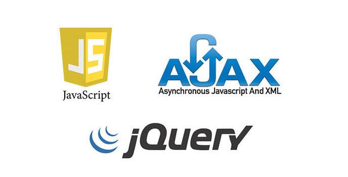 khóa học javascript, ajax, jquery