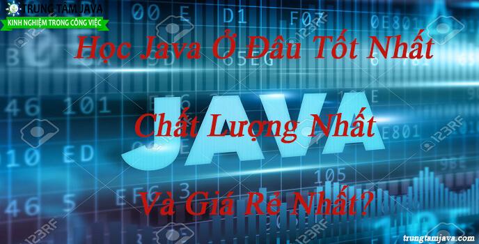 Học Java ở đâu tốt nhất
