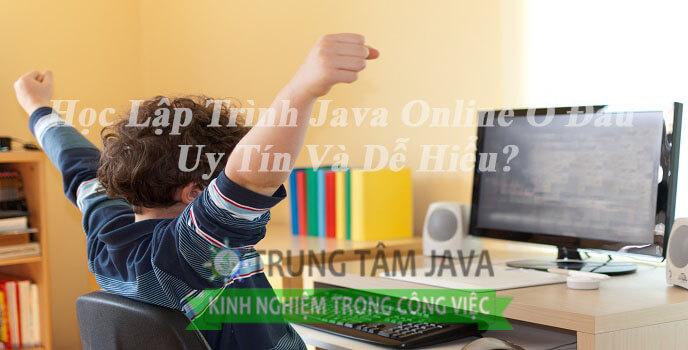 Học lập trình java online ở đâu?
