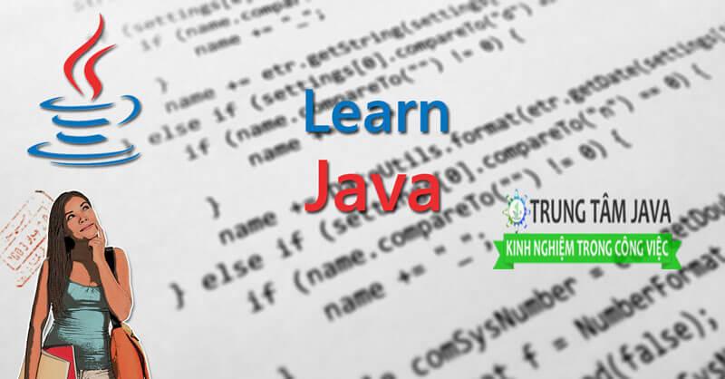 học lập trình java từ cơ bản đến nâng cao