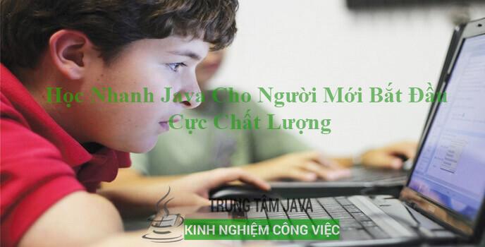 Học Nhanh Java